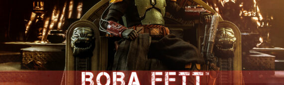 HOT TOYS – Boba Fett (Repaint Armor) and Throne Set Sixth Scale Figure