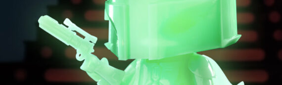 HOT TOYS – Boba Fett ( Green Glow in the Dark) COSBABY