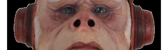 EXCLU WALMART – Un masque de Kuiil en latex