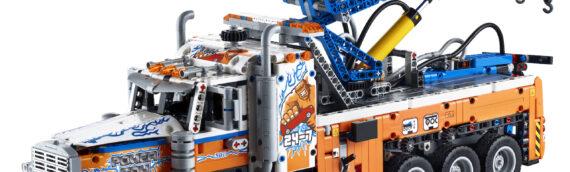 LEGO Technic – Les sets 42128 Heavy-duty Tow Truck  et 42129 Mercedes-Benz Zetros Trial Truck se dévoilent en images