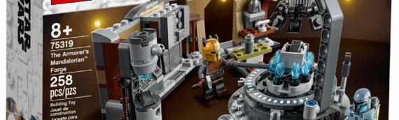 LEGO lève le voile sur le set LEGO Star Wars 75319 The Armorer's Mandalorian Forge