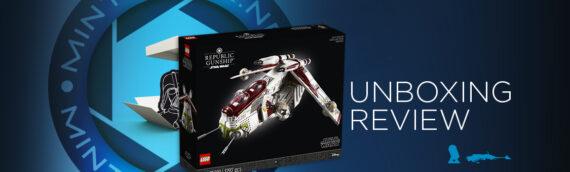 "[Mintinbox Open the Box] REVIEW LEGO Star Wars ""75309 – UCS Republic Gunship"""