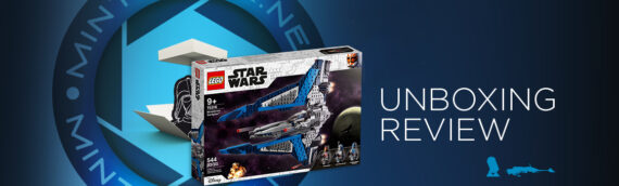 """[Mintinbox Open the Box] REVIEW LEGO Star Wars """"75316 – Le chasseur Mandalorian"""""""