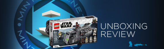 """[Mintinbox Open the Box] REVIEW LEGO Star Wars """"75311 – Imperial Armored Maroder"""""""