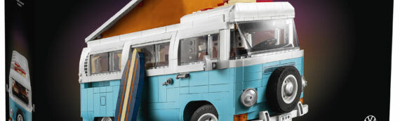 LEGO dévoile le nouveau set LEGO 10279 Volkswagen T2 Camper Van