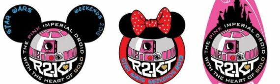PATCHS R2-KT : Réédition des 3 patchs spécial Disney