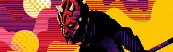 MONDO – Un artwork exclusif de Dark Maul pour le SDCC Online