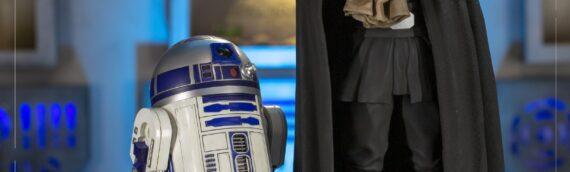 IRON STUDIOS – Luke Skywalker, R2D2 & Grogu Quarter Scale Figure