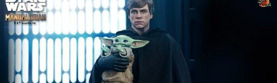 HOT TOYS – Star Wars The Mandalorian Luke Skywalker (Deluxe) Sixth Scale Figure