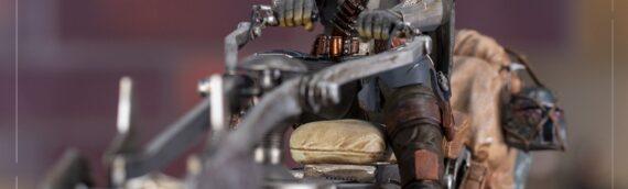 Iron Studios – Deluxe Mandalorian on Speederbike Art Scale 1/10