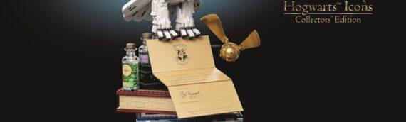 """LEGO HARRY POTTER – 76391 Les icones de Poudlard """"Collector Edition"""""""