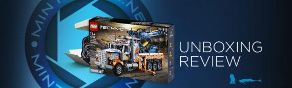 [Mintinbox Open the Box] REVIEW LEGO Technic 42128 Heavy-duty Tow Truck