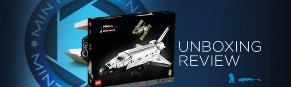 [Mintinbox Open the Box] REVIEW LEGO NASA 10283 La navette spatiale Discovery