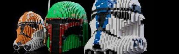 BrickerBuilds – Des casques Star Wars Life-Size en LEGO