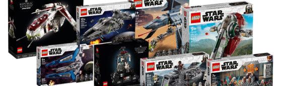 LEGO – Toutes les nouveautés LEGO Star Wars 2021 sont disponibles