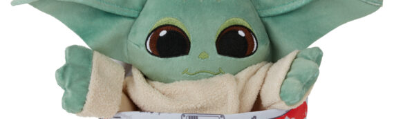 Hasbro : La peluche de Grogu réversible disponible