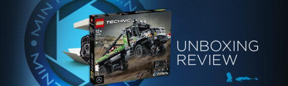 """[Mintinbox Open the Box] REVIEW LEGO Technic """"42129 – Le camion d'essai 4×4 Mercedes-Benz Zetros"""""""