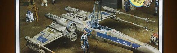 HASBRO – Les images officielles du X-Wing de Antoc Merrick