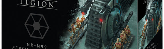 Atomic Mass Games : Trois nouveaux véhicules pour le jeu Legion.