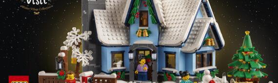 LEGO – 10293 Winter Village Santa's Visit