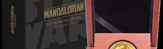 """New zealand Mint : The Mandalorian rejoint la collection des coins """"Classic"""""""
