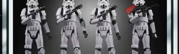 HASBRO – The Vintage Collection Stormtrooper army builder packs
