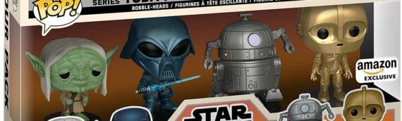 FUNKO POP – Star Wars Concept Series 4-Pack en exclusivité sur Amazon
