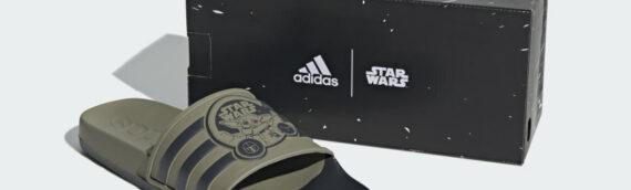 """Adidas : Une paire de claquettes """"Grogu"""" disponible à la vente"""