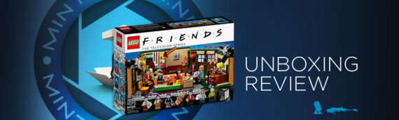 [Mintinbox Open the Box] REVIEW LEGO Ideas Friends 21319 Central Perk