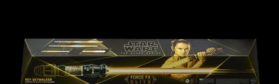 Hasbro – FORCE FX ELITE : Le sabre de Rey Skywalker pour le printemps 2022