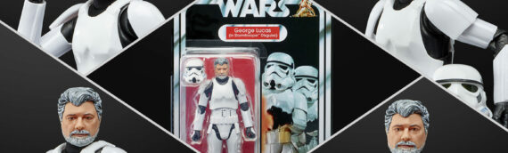 HASBRO – George Lucas rejoint les figurines The Black Series