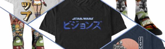 Star wars Visions : Présentation des futurs vêtements