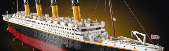 LEGO 10294 Titanic – Le plus gros set LEGO jamais créé