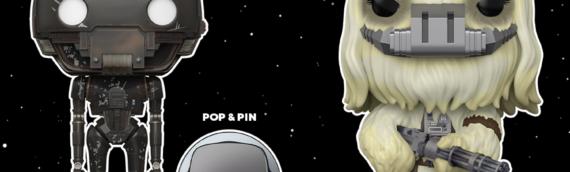 FUNKO POP : K-2S0 et Moroff version Jedah en exclu chez AMAZON