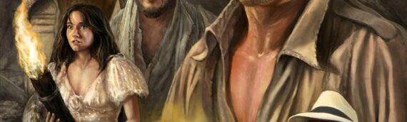 """ACME Archives : Un nouvel artwork d'Indiana Jones """"Adventures Awaits"""""""