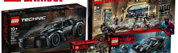 """LEGO – Le plein de set pour le film """"The Batman"""" de 2022"""