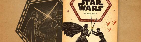 """Littérature : Un extrait du livre """"The Odyssey of Star Wars : An Epic Poem"""""""
